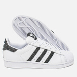 Женские кроссовки adidas Originals Superstar White/Core Black/Reflective фото- 2