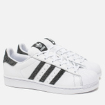 Женские кроссовки adidas Originals Superstar White/Core Black/Reflective фото- 1