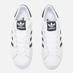 Женские кроссовки adidas Originals Superstar White/Core Black/Reflective фото- 4