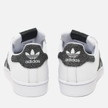 Женские кроссовки adidas Originals Superstar White/Core Black/Reflective фото- 3
