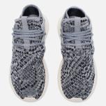 Женские кроссовки adidas Originals Tubular Entrap Light Onix/Metallic Silver фото- 4