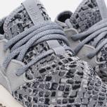 Женские кроссовки adidas Originals Tubular Entrap Light Onix/Metallic Silver фото- 5