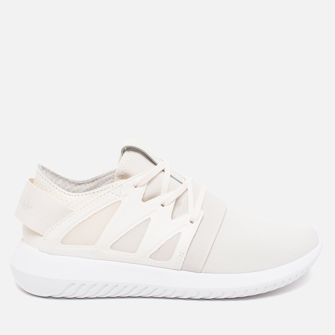 Женские кроссовки adidas Originals Tubular Viral Geometric Pack White/Off White