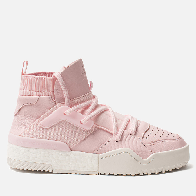 Женские кроссовки adidas Originals x Alexander Wang Bball Clear Pink/Clear Pink/Core White