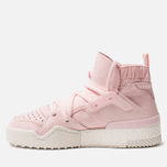 Женские кроссовки adidas Originals x Alexander Wang Bball Clear Pink/Clear Pink/Core White фото- 1