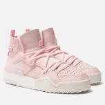 Женские кроссовки adidas Originals x Alexander Wang Bball Clear Pink/Clear Pink/Core White фото- 2