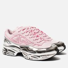 Женские кроссовки adidas Originals x Raf Simons Ozweego Clear Pink/Silver Metallic/Silver Metallic фото- 2