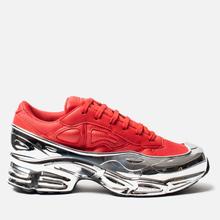 Женские кроссовки adidas Originals x Raf Simons Ozweego Red/Silver Metallic/Silver Metallic фото- 3