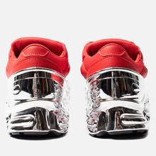 Женские кроссовки adidas Originals x Raf Simons Ozweego Red/Silver Metallic/Silver Metallic фото- 2