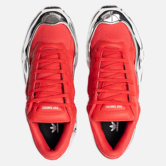Женские кроссовки adidas Originals x Raf Simons Ozweego Red/Silver Metallic/Silver Metallic