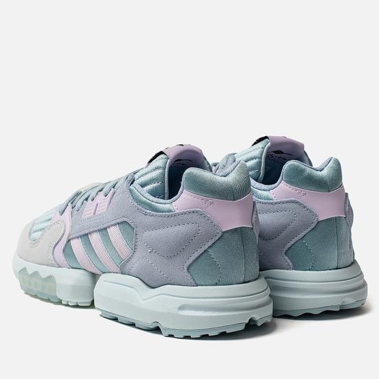 Женские кроссовки adidas Originals ZX Torsion Ash Grey/Purple Tint/Sky Tint