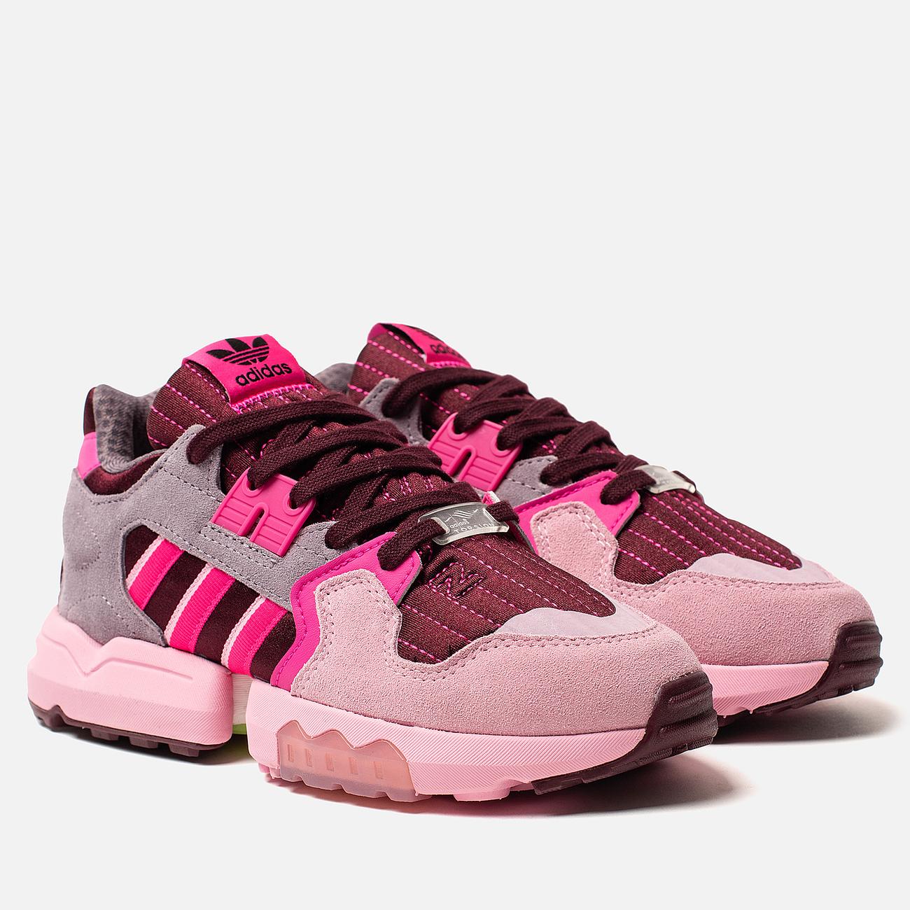 Женские кроссовки adidas Originals ZX Torsion Maroon/Shock Pink/True Pink