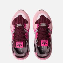 Женские кроссовки adidas Originals ZX Torsion Maroon/Shock Pink/True Pink фото- 1