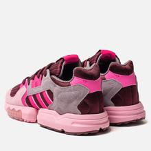 Женские кроссовки adidas Originals ZX Torsion Maroon/Shock Pink/True Pink фото- 2