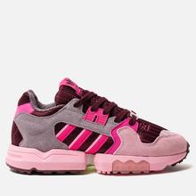 Женские кроссовки adidas Originals ZX Torsion Maroon/Shock Pink/True Pink фото- 3