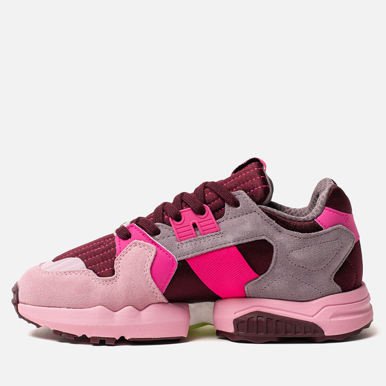 Женские кроссовки adidas Originals ZX Torsion Maroon/Shock Pink/True Pink