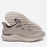 Женские кроссовки adidas Performance Alphabounce EM Tech Earth/Clear Brown/Crystal White фото- 2