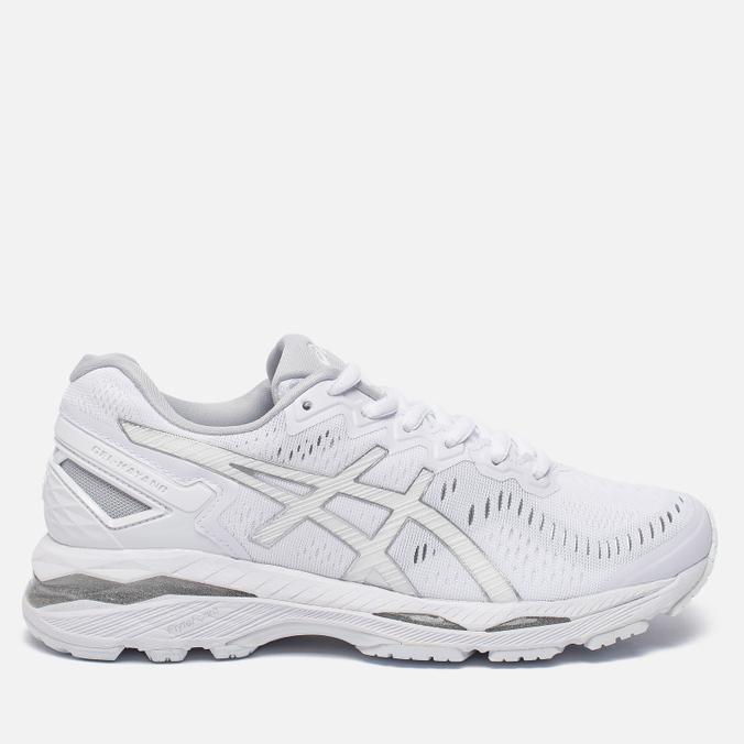 Женские кроссовки ASICS Gel-Kayano 23 White/Snow/Silver