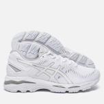 Женские кроссовки ASICS Gel-Kayano 23 White/Snow/Silver фото- 2