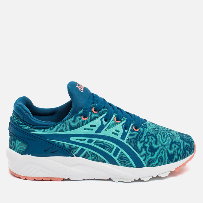 Женские кроссовки ASICS Gel-Kayano Trainer Evo King Fisher/Sea Port