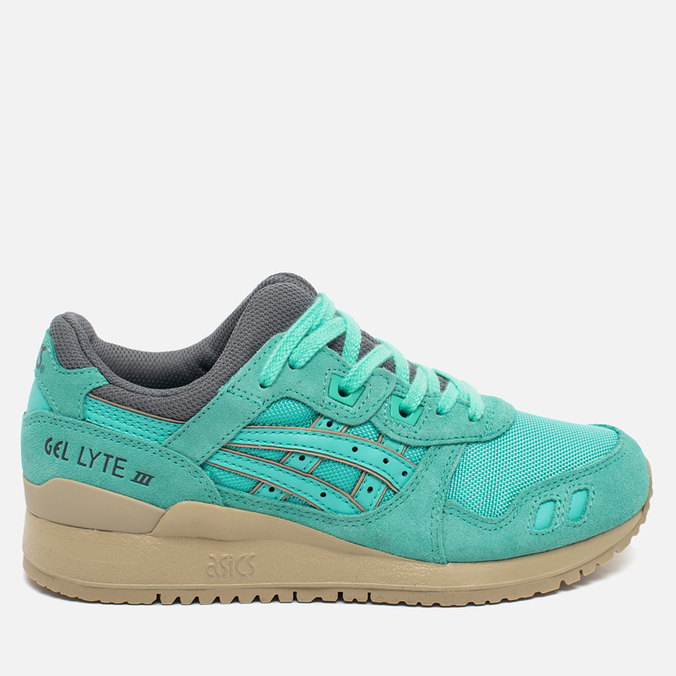 Женские кроссовки ASICS Gel-Lyte III Cockatoo Green Turquoise/Grey/Beige