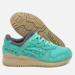 Женские кроссовки ASICS Gel-Lyte III Cockatoo Green Turquoise/Grey/Beige фото- 1
