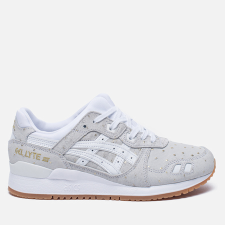 Женские кроссовки ASICS Gel-Lyte III Gold Pack White/White