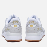 Женские кроссовки ASICS Gel-Lyte III Gold Pack White/White фото- 3