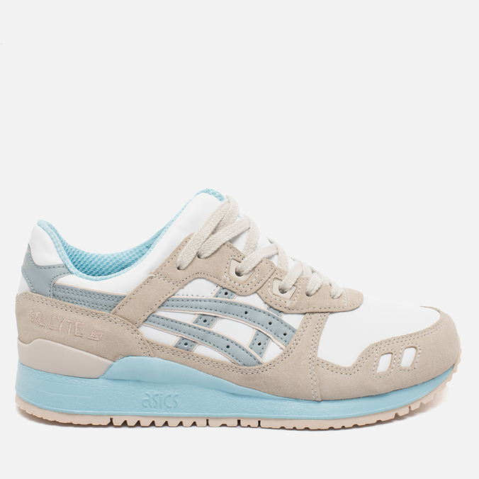Женские кроссовки ASICS Gel-Lyte III Agate Pack Light Grey/White/Blue