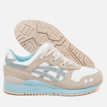 Женские кроссовки ASICS Gel-Lyte III Agate Pack Light Grey/White/Blue фото- 1