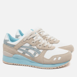 Женские кроссовки ASICS Gel-Lyte III Agate Pack Light Grey/White/Blue фото- 2