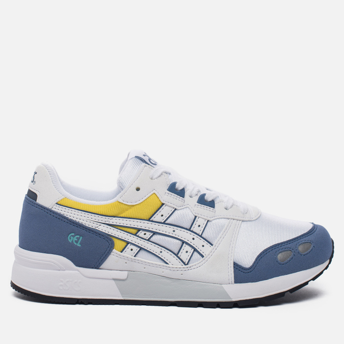 Женские кроссовки ASICS Gel-Lyte OG White/Blue/Yellow