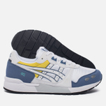 Женские кроссовки ASICS Gel-Lyte OG White/Blue/Yellow фото- 1