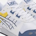 Женские кроссовки ASICS Gel-Lyte OG White/Blue/Yellow фото- 3