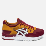 Женские кроссовки ASICS Gel-Lyte V Core Plus Pack Burgundy/White фото- 0
