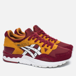Женские кроссовки ASICS Gel-Lyte V Core Plus Pack Burgundy/White фото- 2