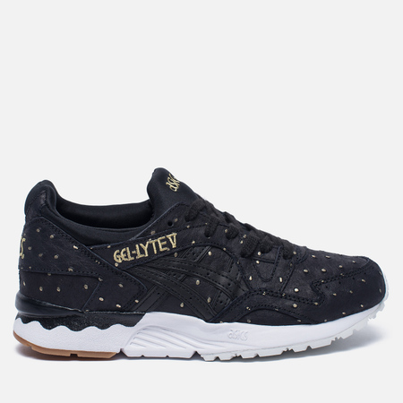 Женские кроссовки ASICS Gel-Lyte V Gold Pack Black/Black