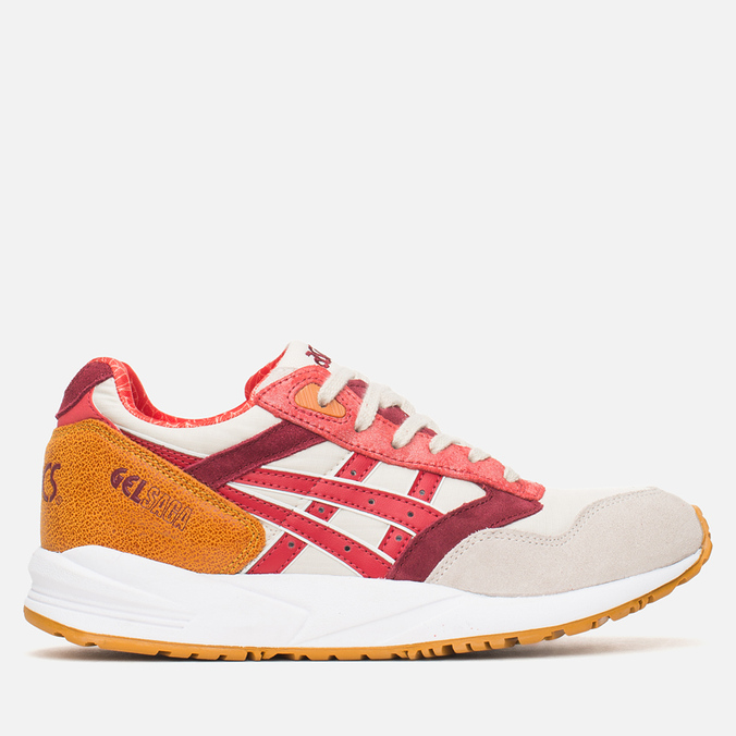 Женские кроссовки ASICS Gel Saga Autumn Brights Pack Off-White/Red