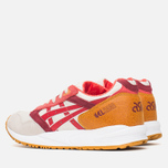 Женские кроссовки ASICS Gel Saga Autumn Brights Pack Off-White/Red фото- 2