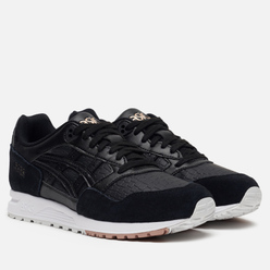 Женские кроссовки ASICS Gel-Saga Leather Black/Black