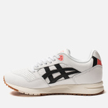 Кроссовки ASICS Gel-Saga White/Black/Orange фото- 1