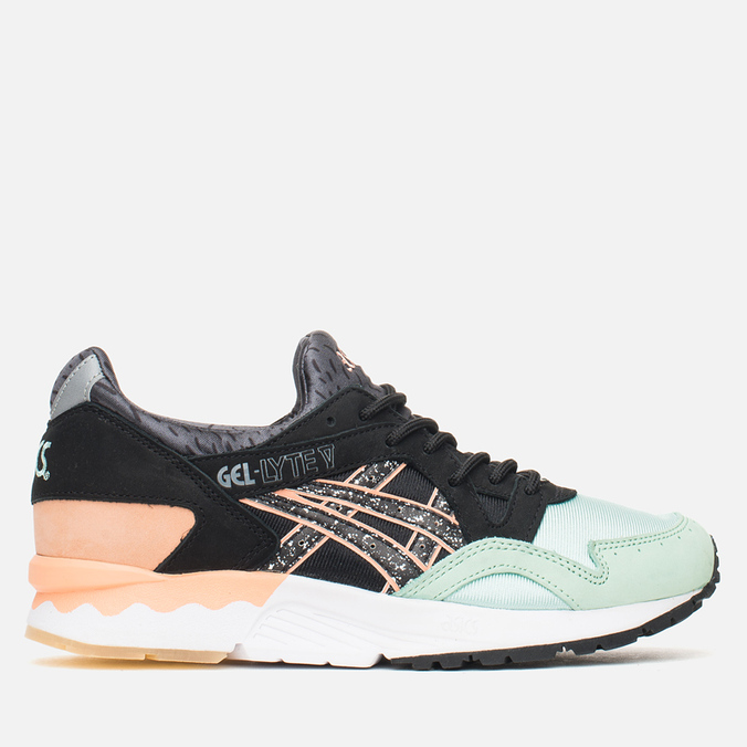 Женские кроссовки ASICS x Naked Gel-Lyte V Hafnia Mint/Coral/Black/White