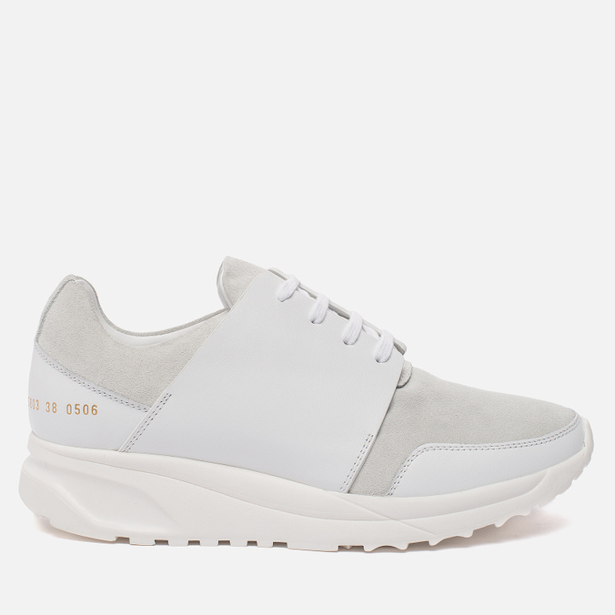 Женские кроссовки Common Projects Track White