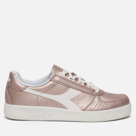 Женские кроссовки Diadora B.Elite L Metallic Burlwood Pink