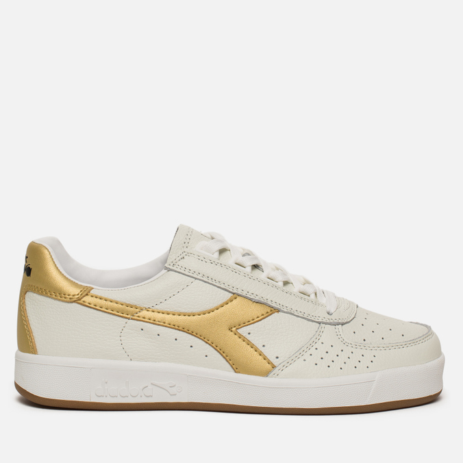 9e1bbf2c Кроссовки Diadora B.Elite L White/Gold 173090-C1070