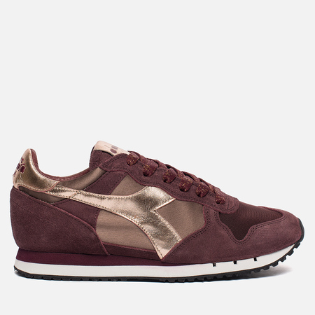 Женские кроссовки Diadora Heritage Trident Low Satin Violet Port Royale