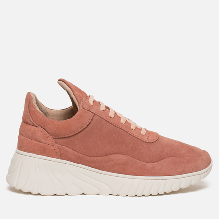 Женские кроссовки Filling Pieces Low Top Roots Runner Roman Suede Cherry Red/Oxblood