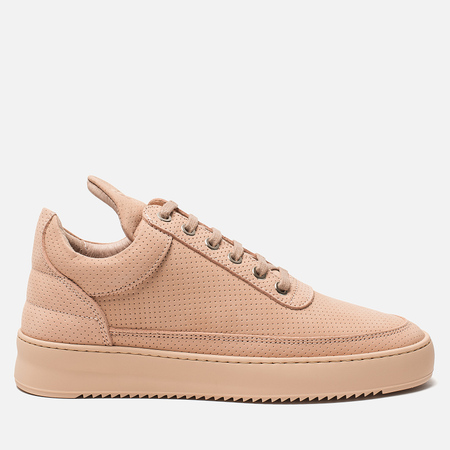 Женские кроссовки Filling Pieces Nubuck Perforated Nude