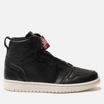 Женские кроссовки Jordan Air Jordan 1 High Zip Black/Sail/University Red фото- 0