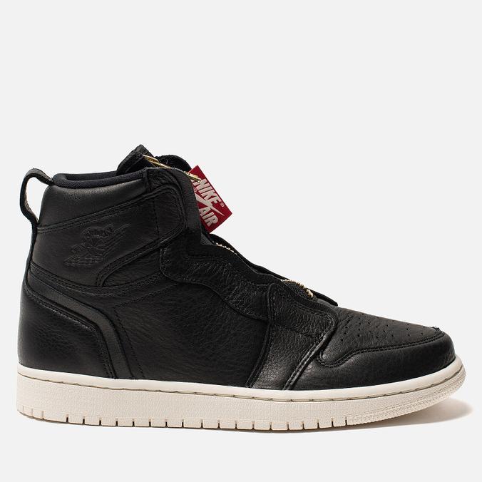 Женские кроссовки Jordan Air Jordan 1 High Zip Black/Sail/University Red